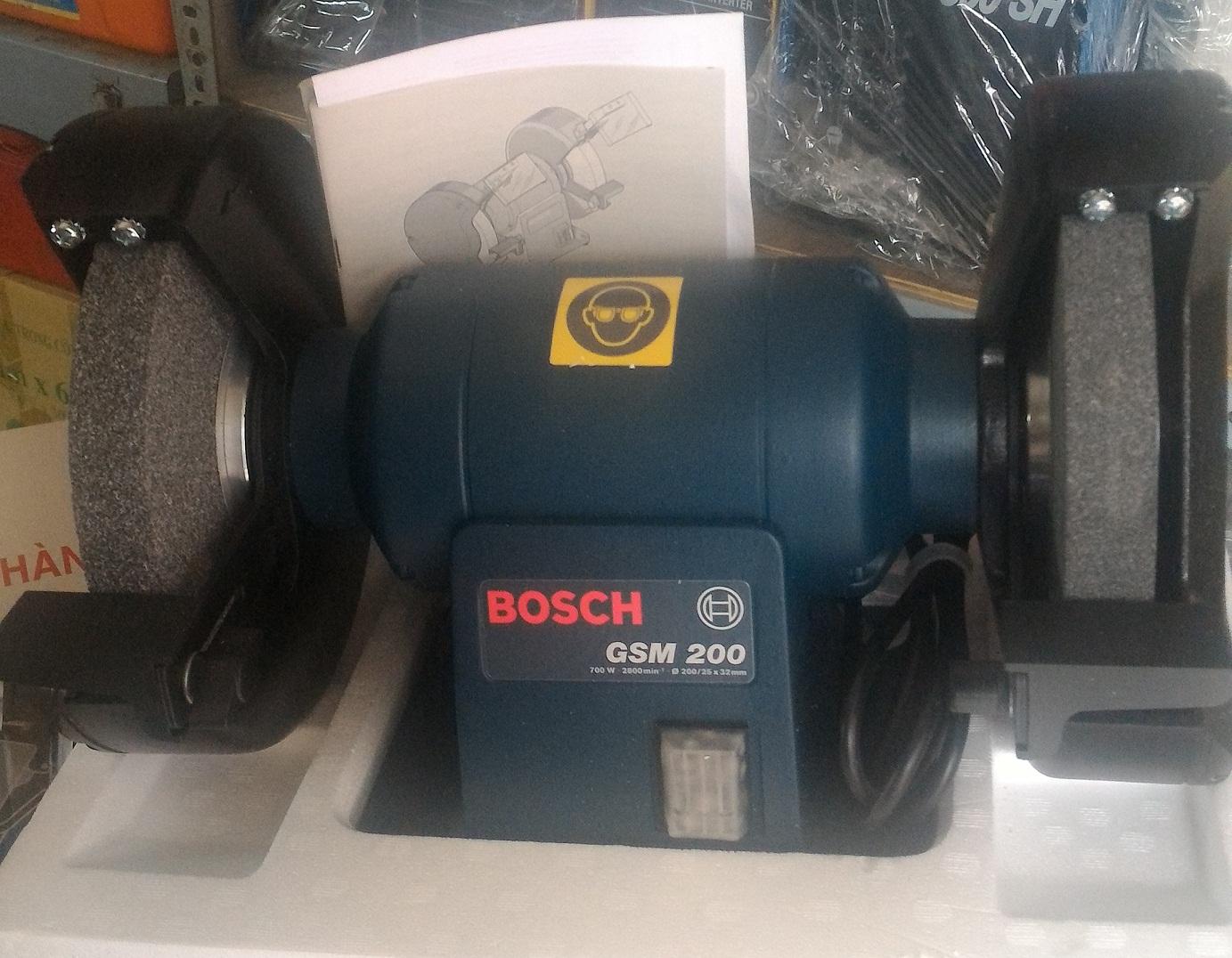 Máy mài bàn 2 đá Bosch GSM 200