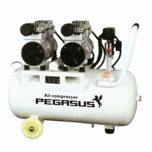 Máy nén khí không dầu Pegasus TM- OF750x2- 70L